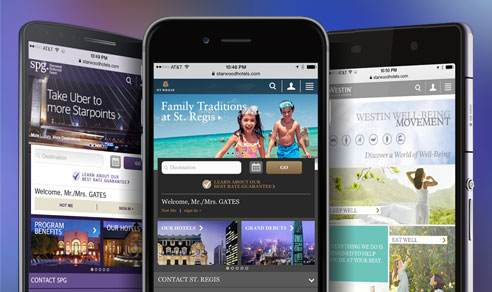 starwood mobile web sites